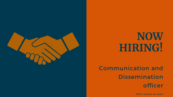Read more about the article Job Opportunity – Communication and Dissemination officer